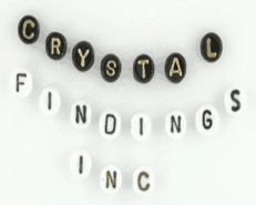 Glass Alphabet Beads