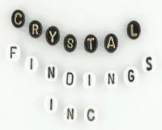 Glass Alphabet Beads