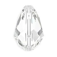 5500 – 10.5x7mm Swarovski Teardrop Bead – Crystal