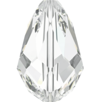 5500 – 10.5x7mm Swarovski Teardrop Bead – Crystal
