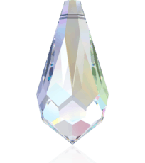 6000 Swarovski Crystal Tear Drop Pendants