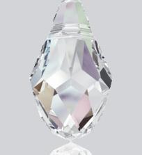 6007 Swarovski Crystal Small Briolette Pendants