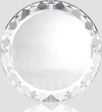 6049 - Swarovski Disc Pendants