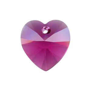 10.3x10mm - 6202 Heart Pendants