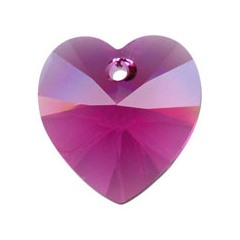 14.4x14mm - 6202 Heart Pendants