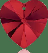 6202 Swarovski Crystal Heart Pendants