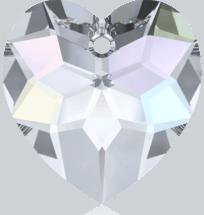 6215 - Swarovski Heart Pendants