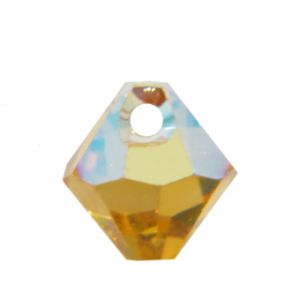 8mm - 6301 Top Hole Charms AB