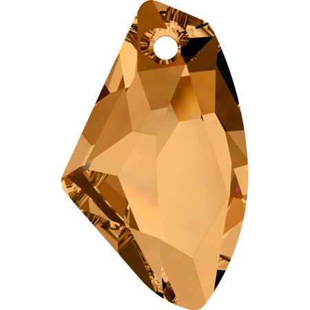6656 – 39mm Swarovski Galactic Vertical Pendant – Copper