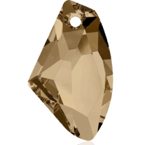 6656 – 39mm Swarovski Galactic Vertical Pendant – Golden Shadow