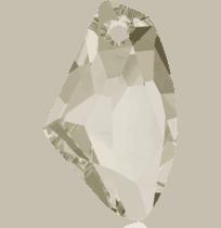 6656 – 39mm Swarovski Galactic Vertical Pendant – Silver Shade