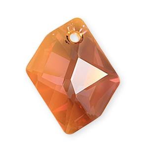 6680 - 20mm Swarovski Cosmic Pendant - Copper