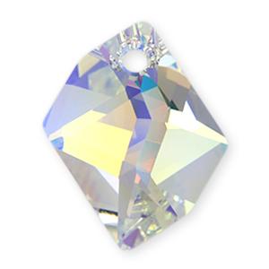 6680 - 20mm Swarovski Cosmic Pendant - Crystal AB