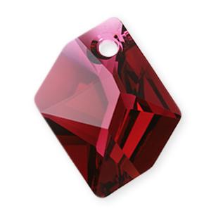 6680 - 20mm Swarovski Cosmic Pendant - Ruby