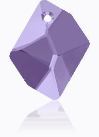 6680 - 20mm Swarovski Cosmic Pendant - Violet