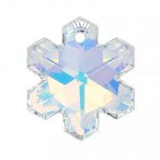 25mm - 6704 Snowflake Pendant