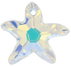 6721 Swarovski Starfish Pendants