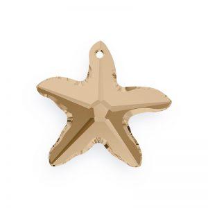 16mm - Starfish Pendants