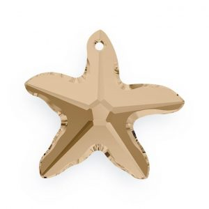 28mm - Starfish Pendants