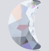 6722 Swarovski Crystal Moon Pendants