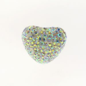 4222 - 18x22mm Shamballa Heart