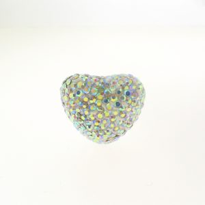 4221 - 13x16mm Shamballa Heart