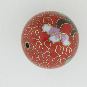 Round Cloisonne Beads - 24mm