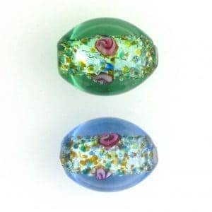 Oval Lamp Beads 6215L 15x11mm