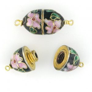 Clasp Cloisonne Beads