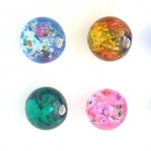 Round Lamp Beads