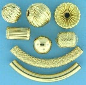 Buy gold filled beads for jewelry making at Crystal Findings