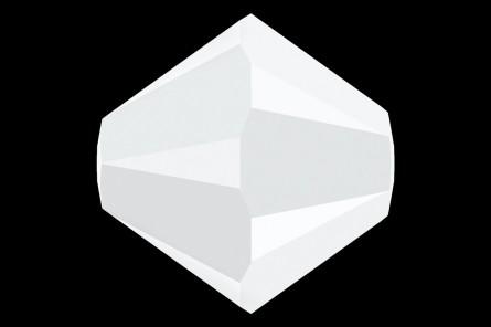 5301/5328 - 4mm Swarovski Bicone Crystal Bead-Chalk White