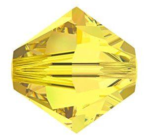 5301/5328 -6mm Swarovski Bicone Crystal Bead-Citrine