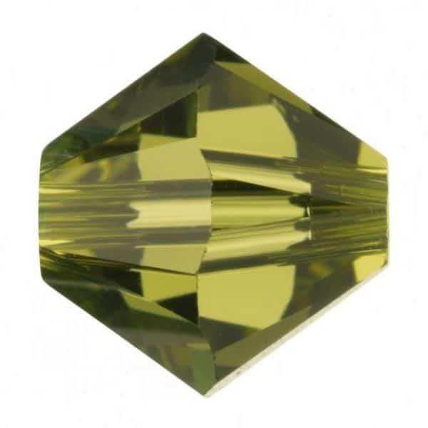 5301/5328 -6mm Swarovski Bicone Crystal Bead- Khaki