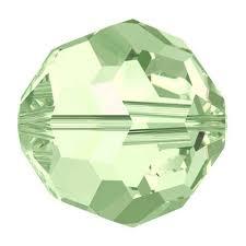 5000 - 4mm Swarovski Round Crystal - Chrysolite