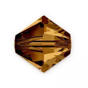 5301/5328 -6mm Swarovski Bicone Crystal Bead-Colorado Topaz