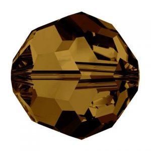 5000 - 4mm Swarovski Round Crystal - Colorado Topaz