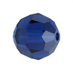 5000 - 6mm Swarovski Round Crystal - Dark Indigo