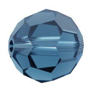 5000 - 6mm Swarovski Round Crystal - Indian Sapphire