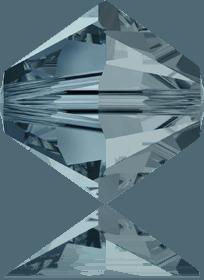 5301/5328 -6mm Swarovski Bicone Crystal Bead- Indian Sapphire