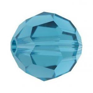 5000 - 4mm Swarovski Round Crystal - Indicolite