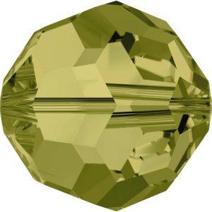 5000 - 4mm Swarovski Round Crystal - Khaki