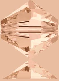 5301/5328 -6mm Swarovski Bicone Crystal Bead-Light Peach
