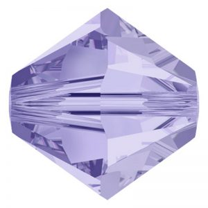 5301/5328 - 4mm Swarovski Bicone Crystal Bead-Light Tanzanite