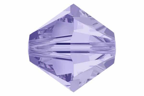 5301/5328 - 4mm Swarovski Bicone Crystal Bead-Light Tanzanite