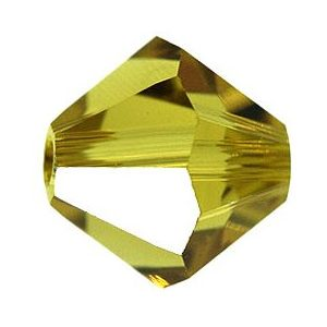 5301/5328 -6mm Swarovski Bicone Crystal Bead- Lime
