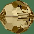 5000 - 5mm Swarovski Round Crystal - Light Col. Topaz
