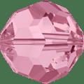 5000 - 5mm Swarovski Round Crystal - Light Rose