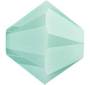 5301/5328 -6mm Swarovski Bicone Crystal Bead-Mint Alabaster