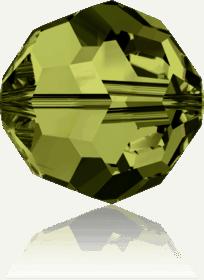 5000 - 3mm Swarovski Round Crystal - Olivine